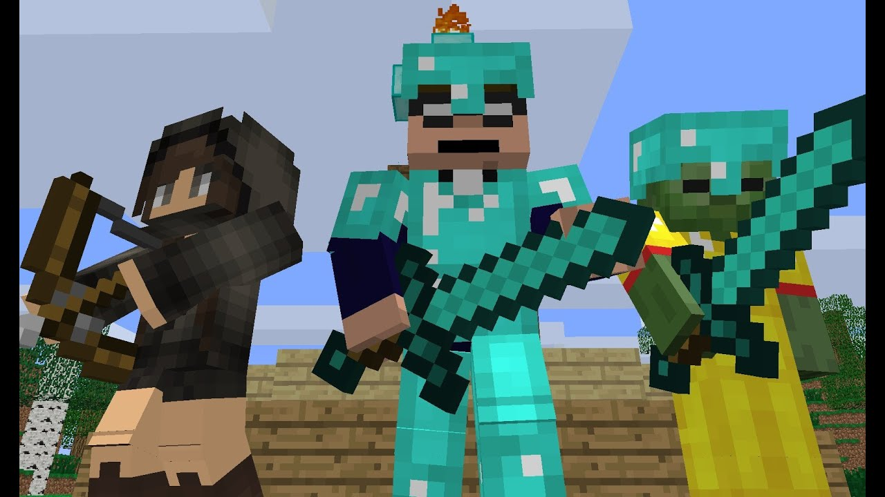 Minecraft Games And Gamers : The hunger games minecraft animation youtube