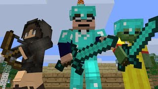 The Hunger Games Minecraft Animation