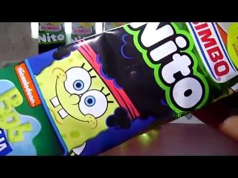 Gomas para borrar de Bob esponja En Nito Bimbo