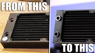 How to make an old radiator look brand new, for CHEAP!