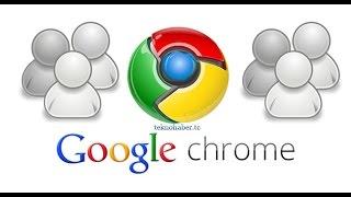 Çoklu Hesap'ı Açmak İçin Google Chrome Kullanma