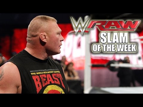 The Beast is Back - WWE Raw Slam of the Week 12/15
