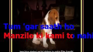 tere bina zindagi se koi shikwa to nahi-guitar;Film:Aandhi