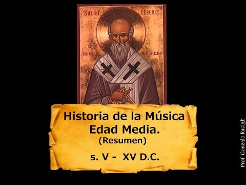 Historia de la música   Edad Media Resumen