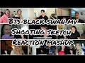 EPISODE BTS 방탄소년단 'Black Swan' MV Shooting Sketch | Reaction Mashup