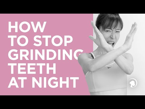 Stop Grinding Teeth at Night with Face Yoga http://faceyogamethod.com/ - Face Yoga Method