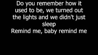 Brad Paisley ft. Carrie Underwood - Remind Me Lyrics