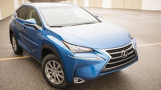 Test Drive System 2017 Lexus NX200t  Manual Transmission On the Road