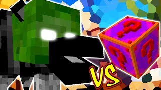 WEREGHAVIL VS. LUCKY BLOCK GLITE (MINECRAFT LUCKY BLOCK CHALLENGE)