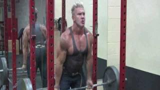Monsta Athlete Andy Haman Curls MASSIVE Weight