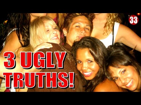 3 UGLY TRUTH's I Learned From APPROACHING 10,000 WOMEN! ( as a Professional Pickup Artist )