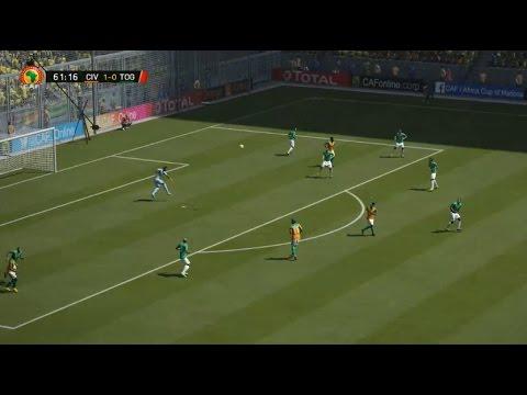 [HD] Cote d'Ivoire vs Togo   Coupe d'Afrique 2017   16 Janvier 2017   Fifa 16