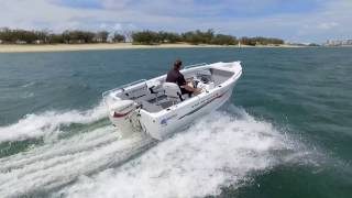 Quintrex Renegade 440 - Boat Reviews on the Broadwater
