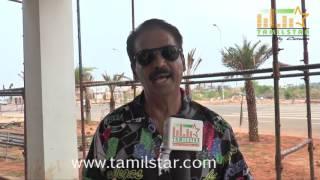 Ganesh Kumar At Kaaviyan Movie Shooting Spot