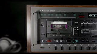 Best cassette tape deck ever made? Hear how the Nakamichi 1000ZXL sounds
