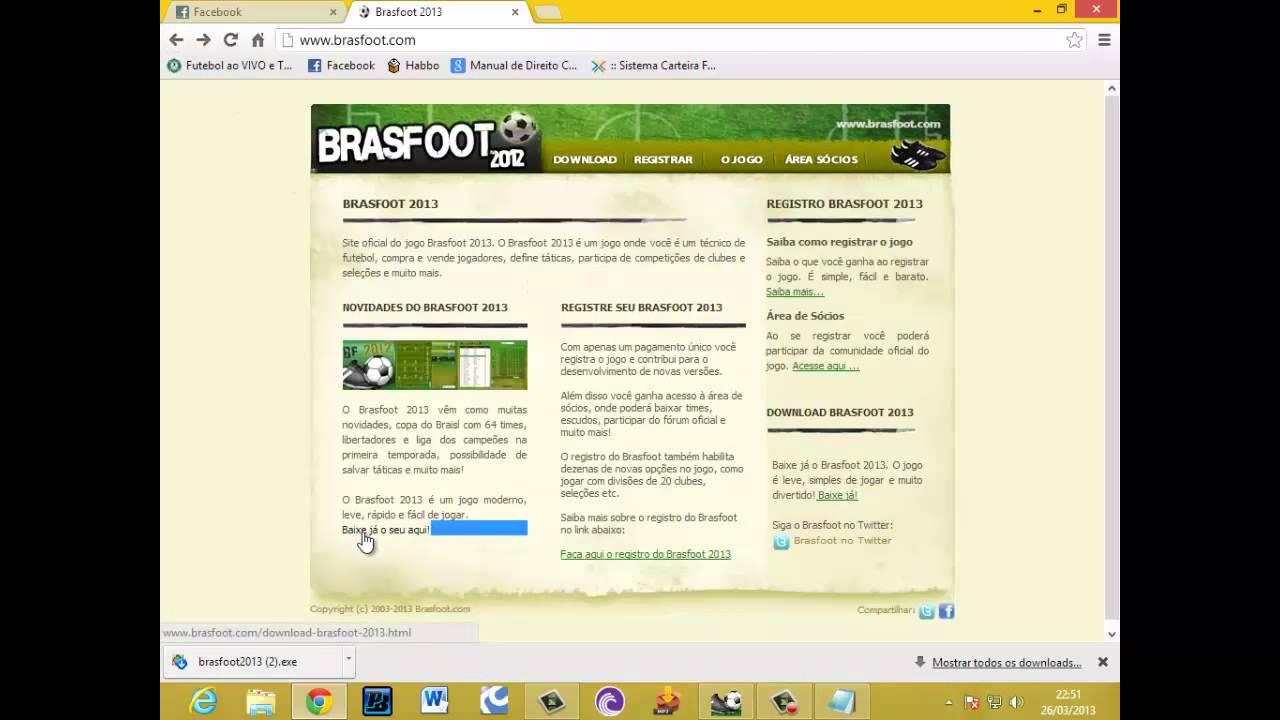 brasfoot 2013 site oficial