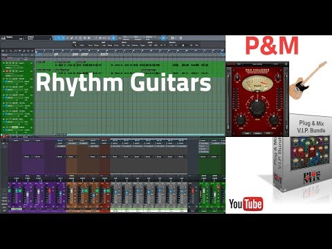 Mixing Guitars With P&M Plug-ins #9
