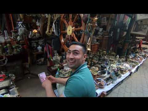 Streets Of Athens Greece Monastiraki Flea Market