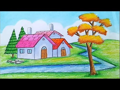 how-to-draw-a-beautiful-landscape-step-by-step