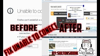 Cara Mengakses Web Waw Cit,DukunCit Fix Unable To Conect/Tidak Dapat Terhubung