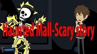 Haunted Mall-Scary Story (Animated in Hindi) |IamRocker|