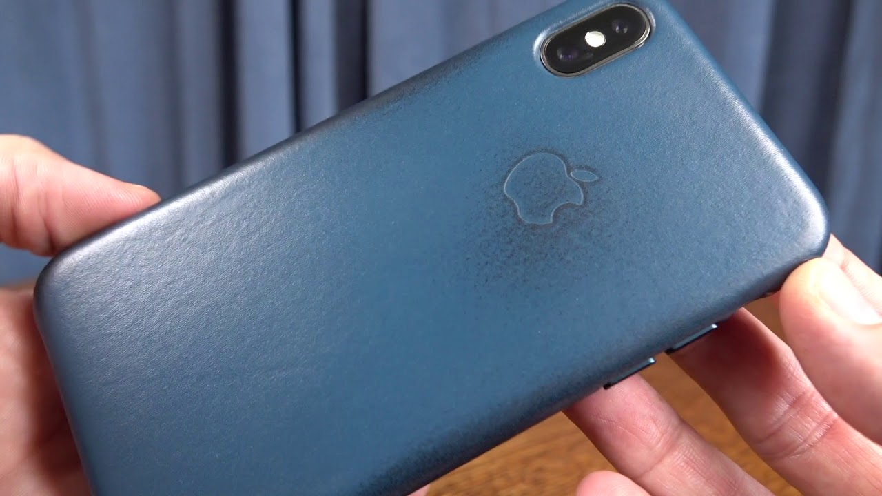 best cheap 6b370 73661 Apple's iPhone X Leather Case 6 months later