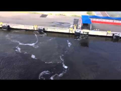 Leaving the Port of Jacksonville