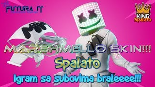 MARSHMELLO skin is THERE!!! -#Fortnite #Balkan #Live-Target 6400 subsites + 1055 WINS!!! #478