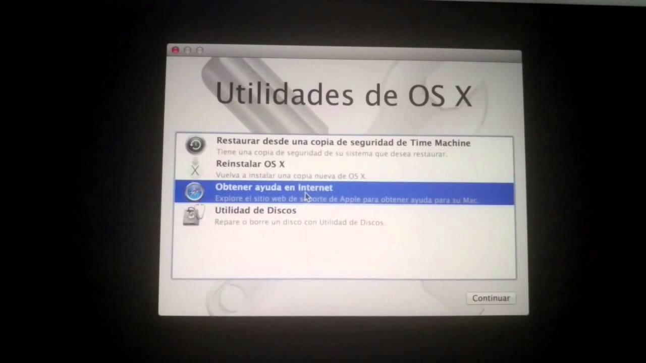 formatear mac pro sin disco
