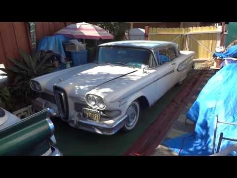 1958 Edsel Corsair Early Production (#6) For Sale from Priva