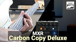 MXR Carbon Copy Deluxe Analog Delay Guitar Effect Pedal