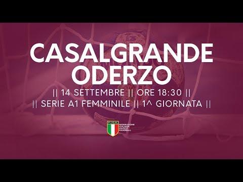 Serie A1F [1^]: Casalgrande - Oderzo 23-30