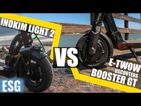 Best Ultra-Portable Electric Scooter Inokim Light 2 vs E-TWOW Booster GT | Scooter Showdown