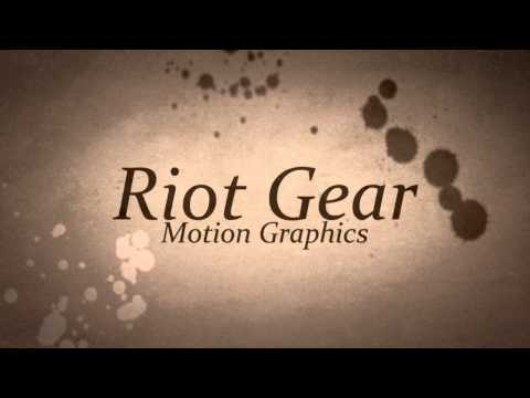 Free Template - Old Books [Advance Riot Gear Intro] in Sony Vegas Pro 9.0