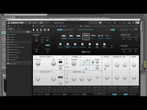 How to: Using the vowel filter on RAZOR | Native Instruments