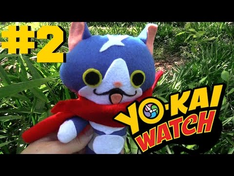 Yokai Watch plush - Episode 2 Fuyunyan