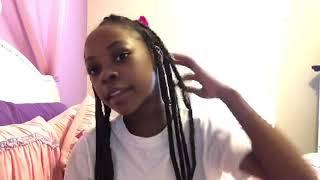 Five easy box braid hairstyles