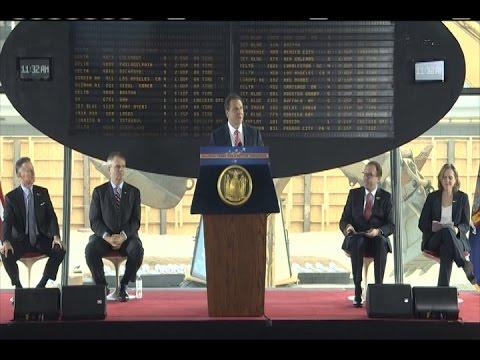 Governor Cuomo Announces Groundbreaking on Historic TWA Flight Center Hotel