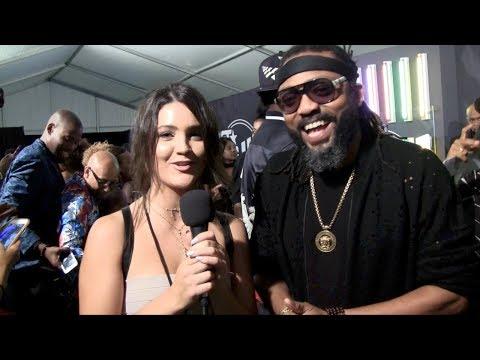 Machel Montano Interview 2017 BET Hip Hop Awards Green Carpet