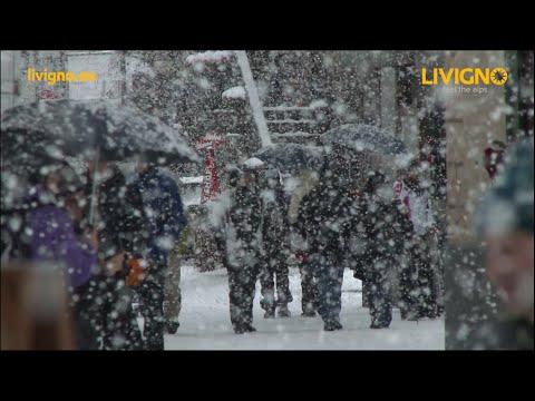 Amazing Snowfall in #Livigno