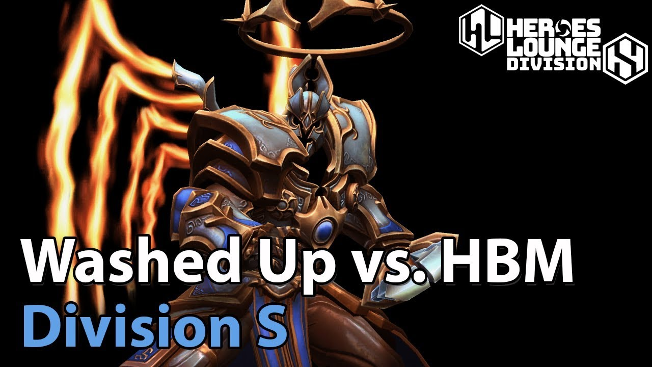 ► Heroes of the Storm: Washed Up vs. Hold My Beer - Division S Qualifier