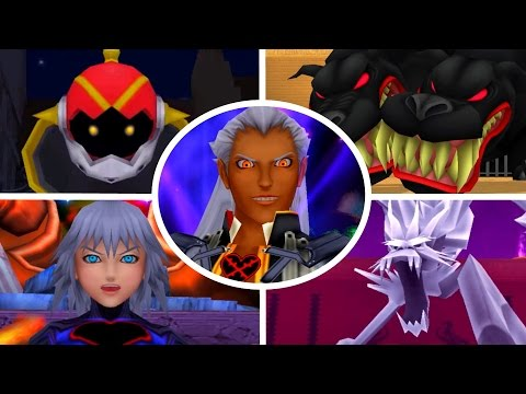 Kingdom Hearts Final Mix - All Bosses (1080p/60fps)