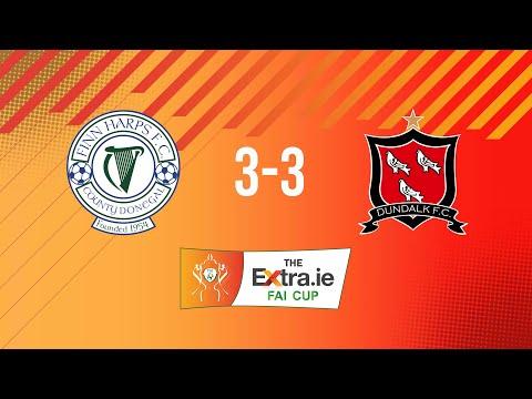 Extra.ie FAI Cup Quarter Final: Finn Harps 3-3 Dundalk