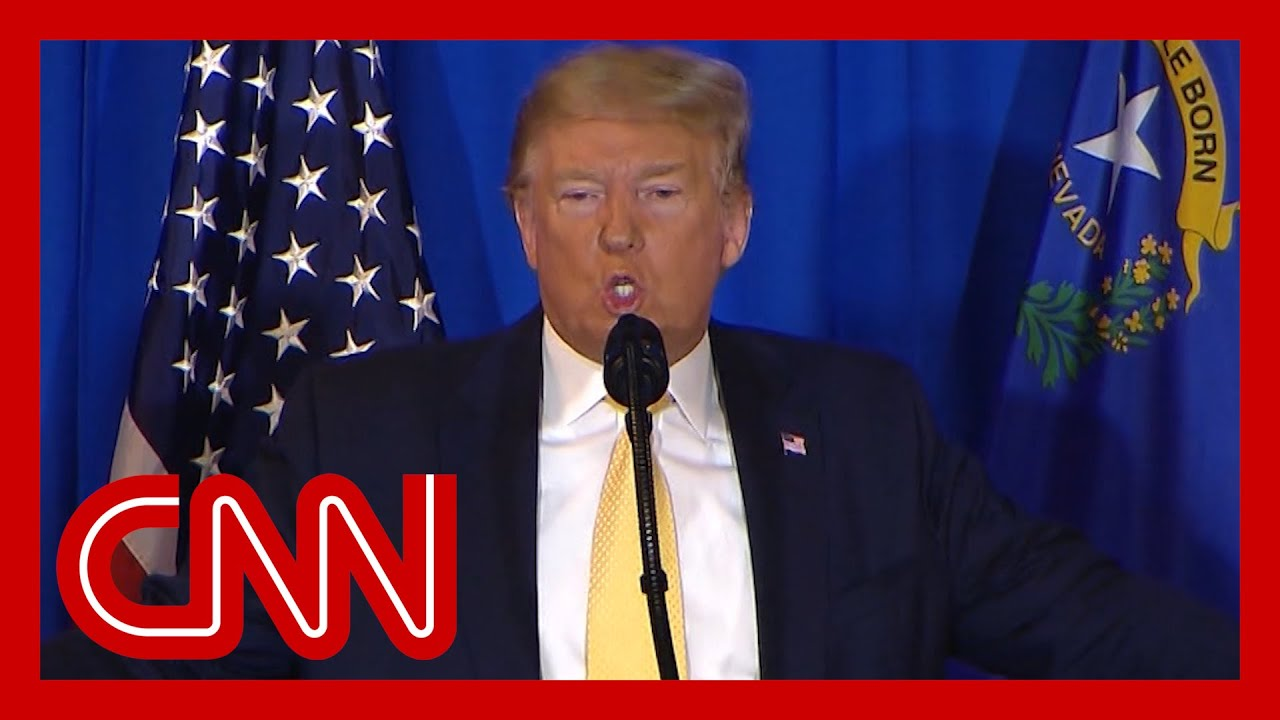 Watch Trump's reaction to Stone's sentencing