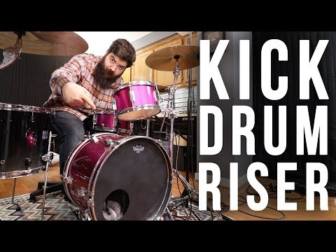 Upgrading A Kids Drum Set - Bass Drum Riser