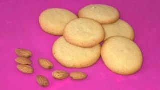 Миндальное печенье. Очень вкусное печенье из миндальной муки.