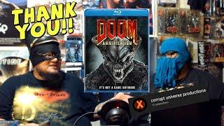 Doom: Annihilation, Tony Giglio, And Viewer Appreciation