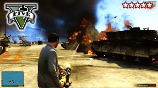 GTA 5 DESTRUCTION! - Grand Theft Auto 5 Killing Everyone - Goofing Around In GTA V Campaign