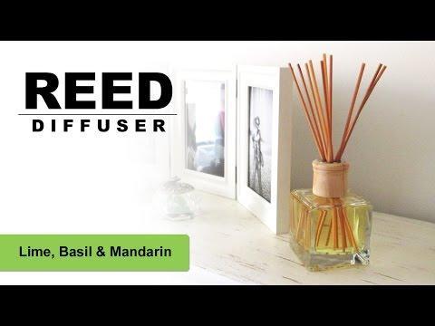 Reed Diffuser DIY Tutorial, Lime Basil & Mandarin
