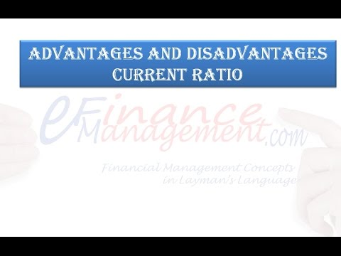 advantage and disadvantage of ratio analysis Advantages and limitations of ratio analysis explained with regard to efficiency of working capital and management.